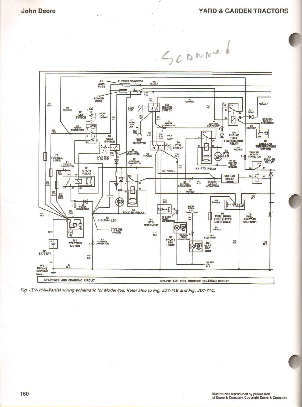 medium resolution of john deere 445 wiring diagram b2network co