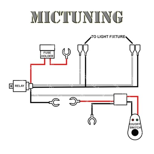 small resolution of led light bar wiring harness diagram to dual extraordinary for f road lights kc