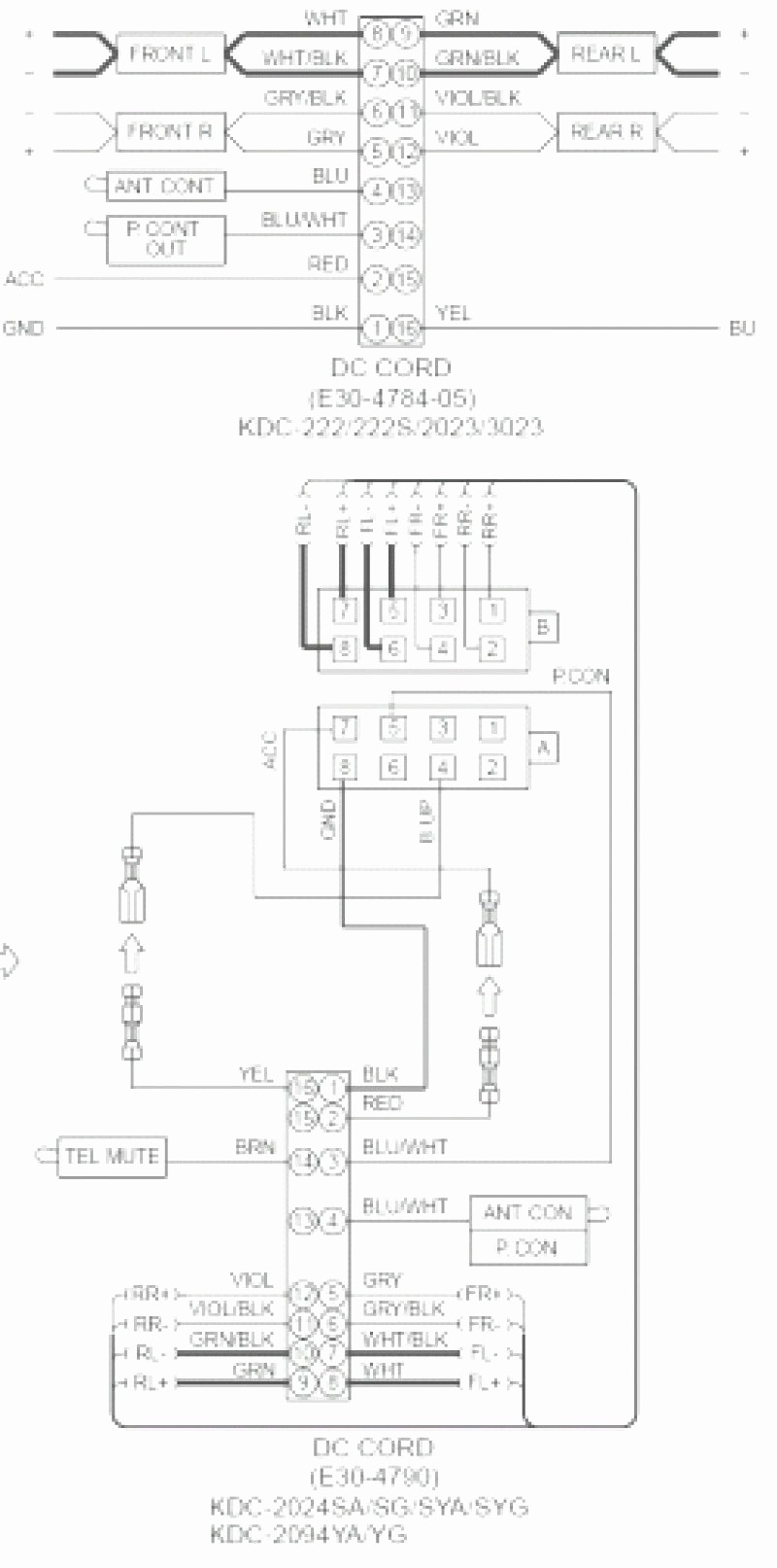 Kenwood Dpx503bt Wiring Diagram