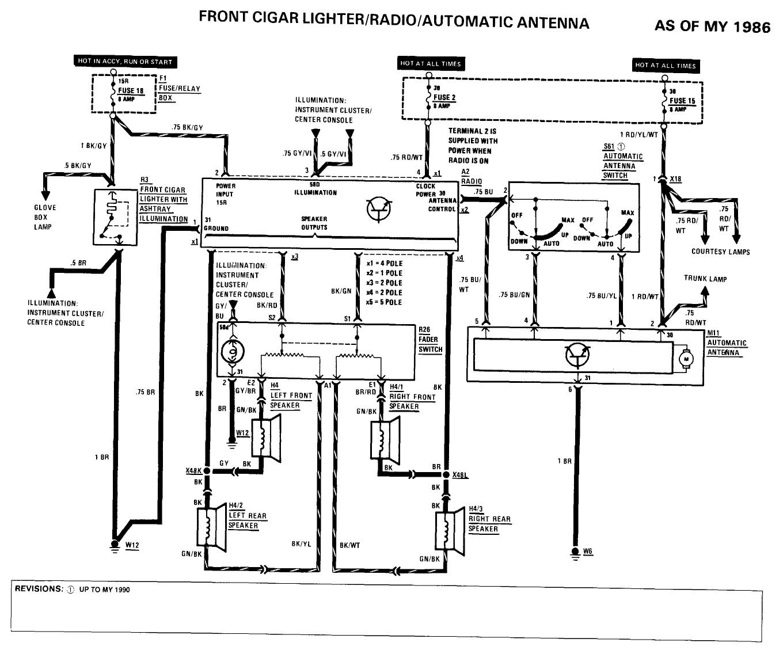 W124 Ac Wiring Diagram