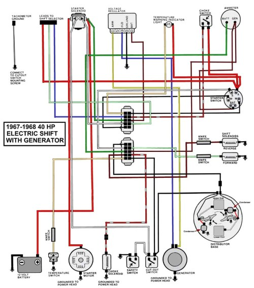 small resolution of 40 hp honda wiring diagram
