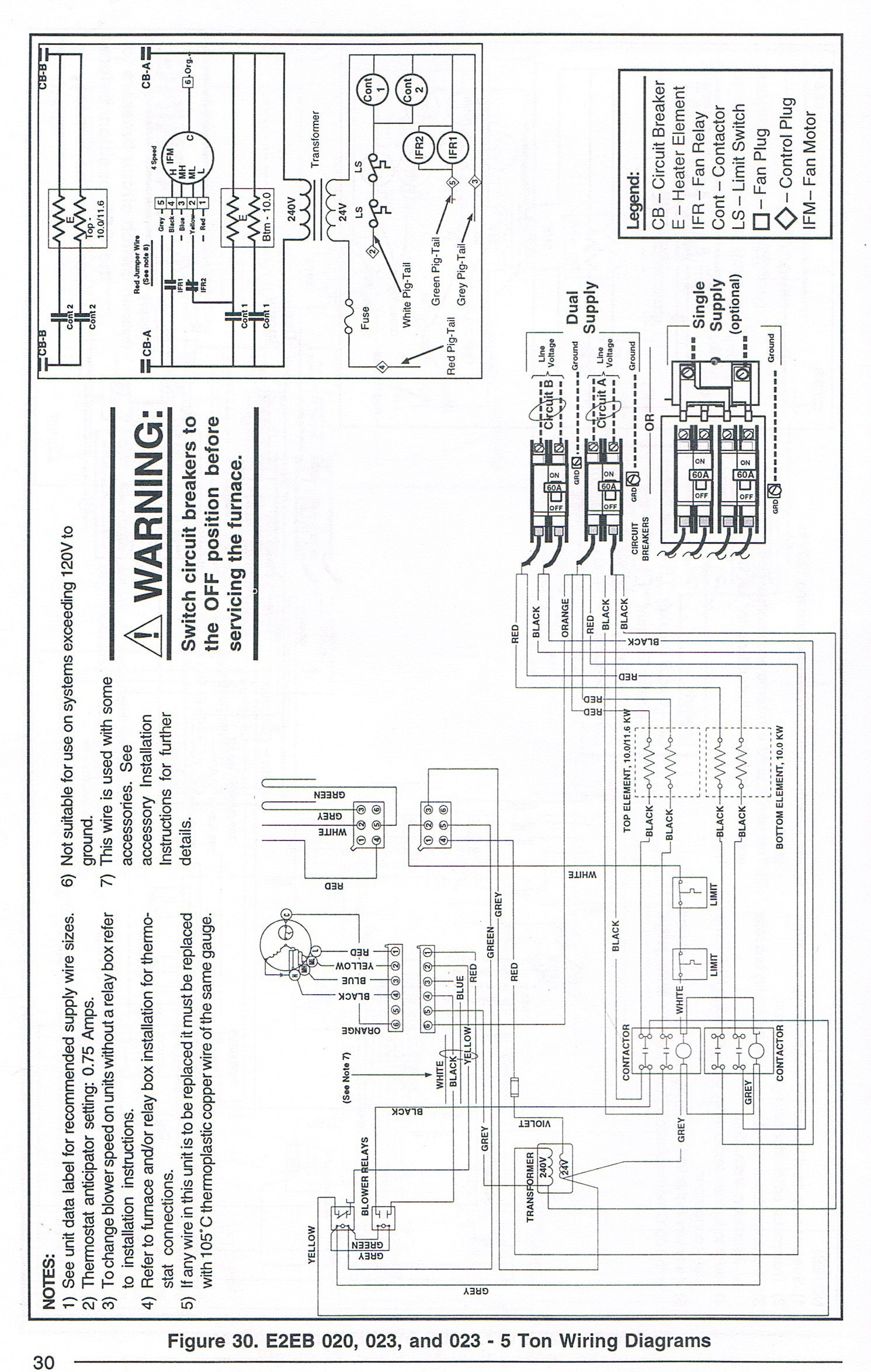 35 Nordyne Electric Furnace Wiring Diagram