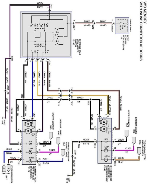 small resolution of ford f250 mirror wiring wiring diagram center 2007 ford f250 mirror wiring diagram ford f250 mirror wiring diagram