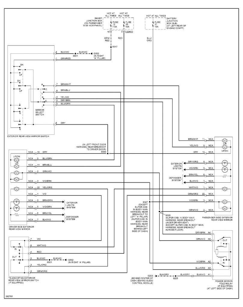 hight resolution of power mirror switch wiring diagram new