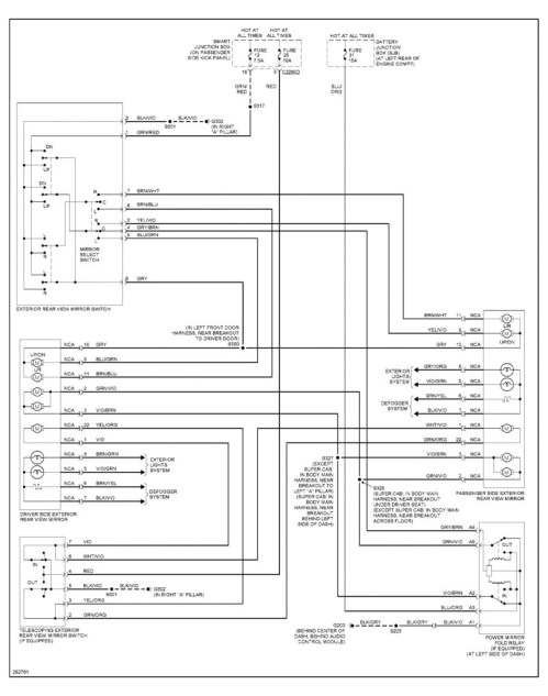 small resolution of power mirror switch wiring diagram new