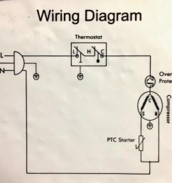 whirlpool refrigerator pressor wiring diagram [ 990 x 898 Pixel ]