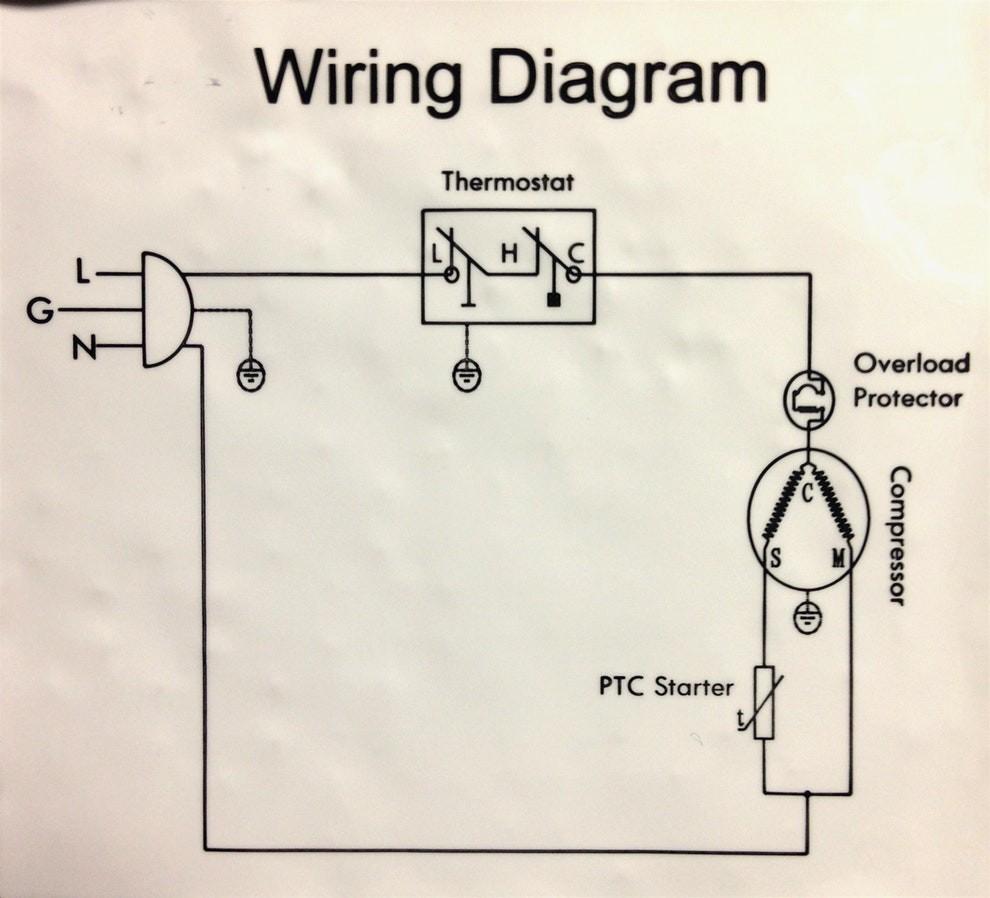 hight resolution of whirlpool refrigerator pressor wiring diagram