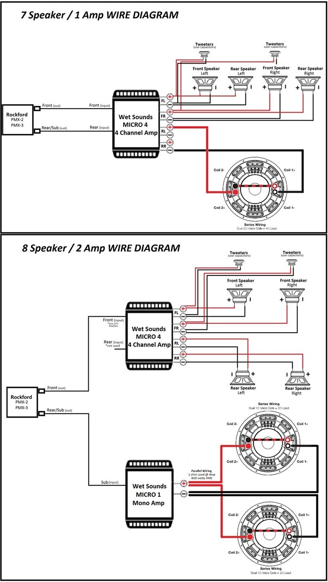 Dual Amp Wiring Diagram Diagrams Source Shore Power Simple Page 30