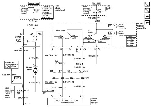 small resolution of 1998 chevy s10 motor wiring hvac wiring diagram article review 2000 chevy s10 blower motor wiring