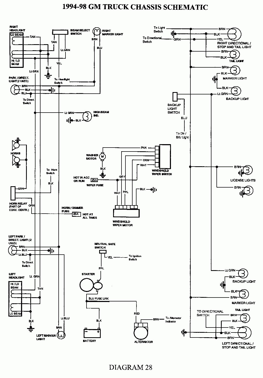 hight resolution of 1991 chevrolet suburban wiring diagram wiring library 2004 sierra wiring diagram 1991 chevrolet suburban headlight wiring