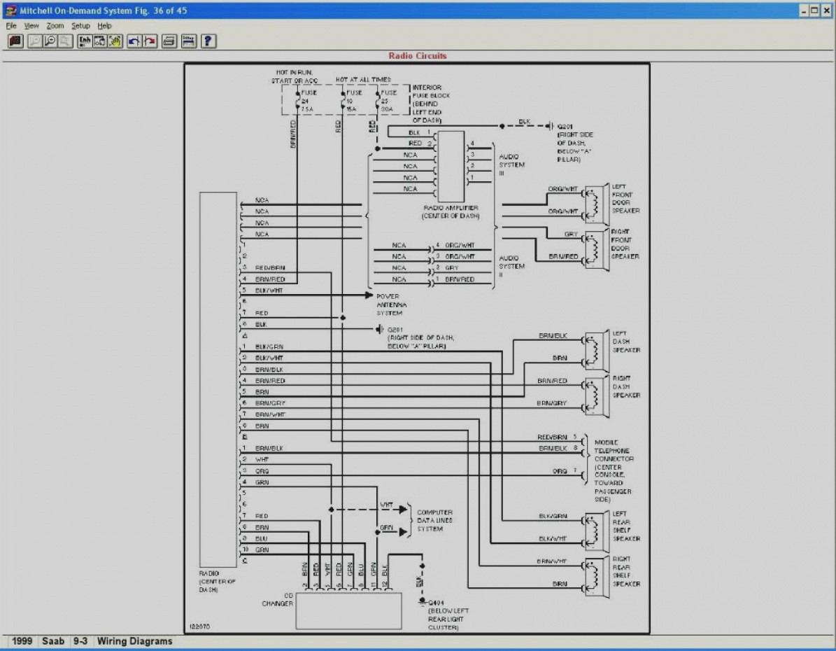 hight resolution of 1999 saab 9 3 amplifier wiring wiring diagram today