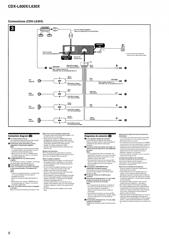 sony car radio wiring diagram photocell control cdx gt420ip mazda