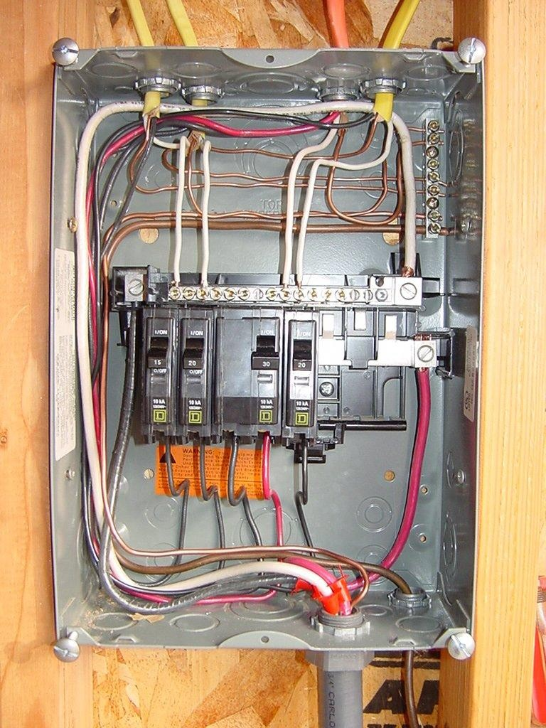 medium resolution of square d breaker box wiring diagram
