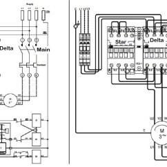 Dol Starter Circuit Diagram Autometer Air Fuel Ratio Gauge Wiring Star Delta Control Motor