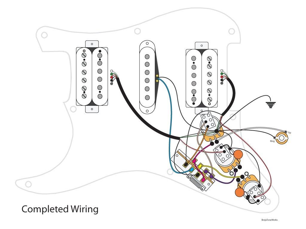 Superstrat Wiring
