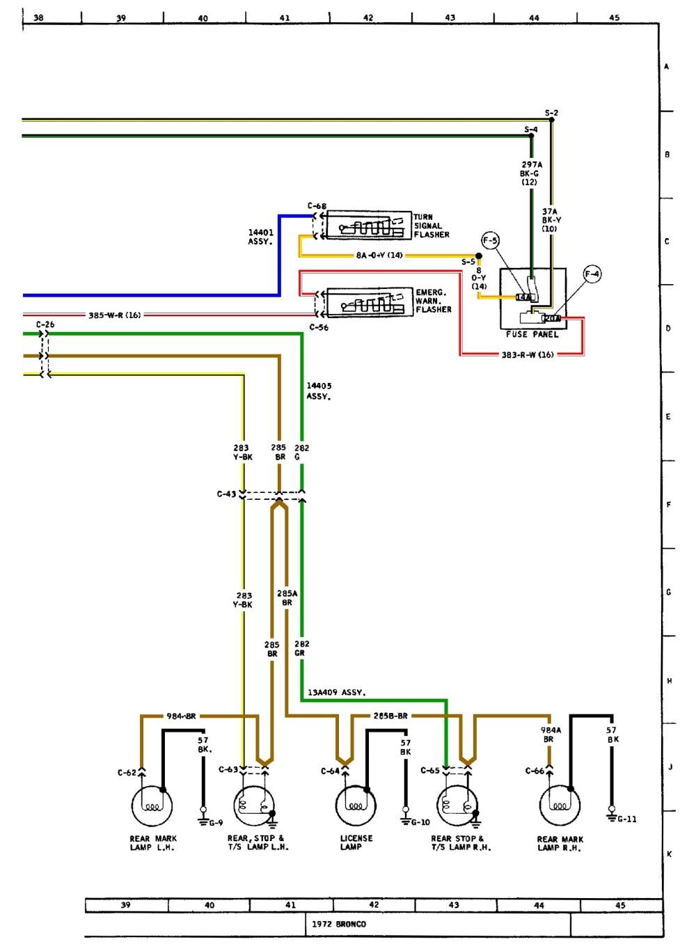 medium resolution of basic turn signal ke wiring diagram example electrical wiring fuel gauge wiring diagram painless wiring diagram