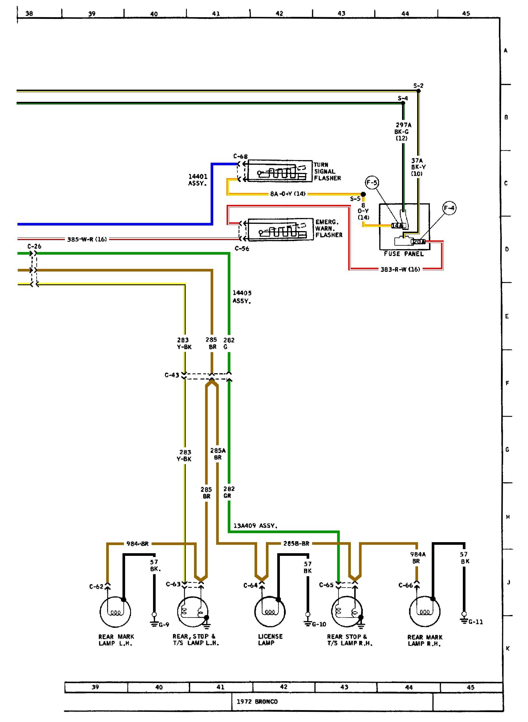 hight resolution of basic turn signal ke wiring diagram example electrical wiring fuel gauge wiring diagram painless wiring diagram
