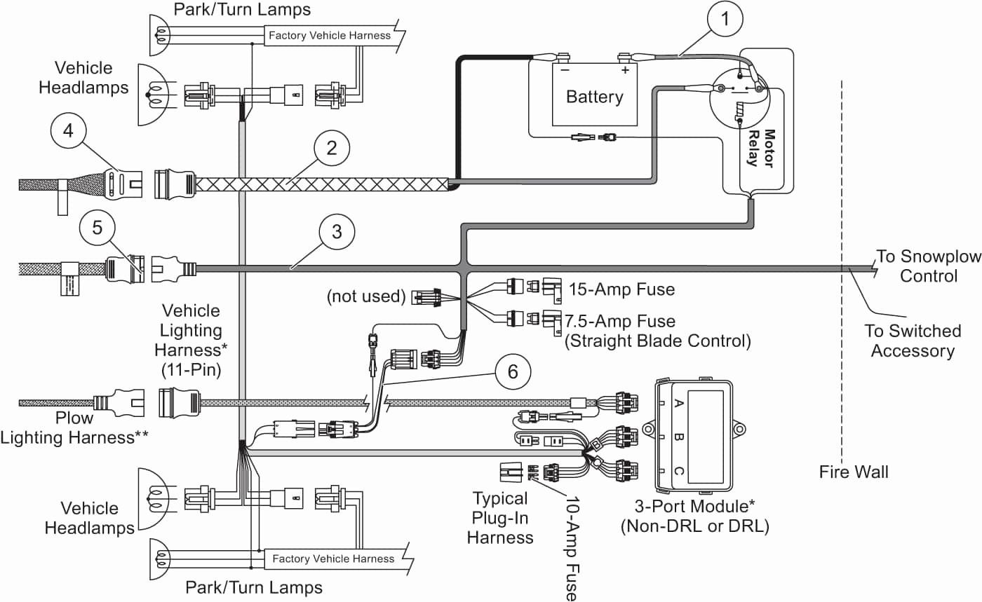 fisher plow wiring diagram dodge 2002 chevy silverado 1500 western cable control snow
