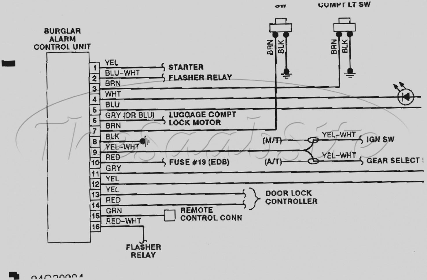 Light Bar Wiring Harness Diagram