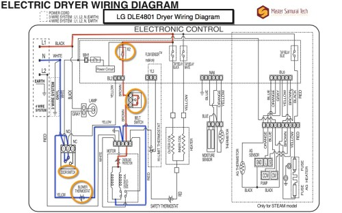 small resolution of lg dle4801 dryer wiring diagram the appliantology gallery amazing wire