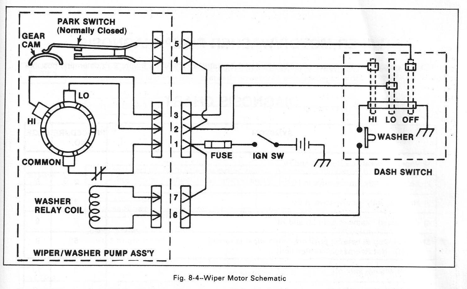 93af255 s10 wiper motor wiring diagram | wiring resources  wiring resources