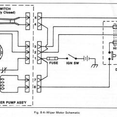 Wiper Motor Wiring Diagram Ford Sony Xplod Ez 304 1976 Jeep