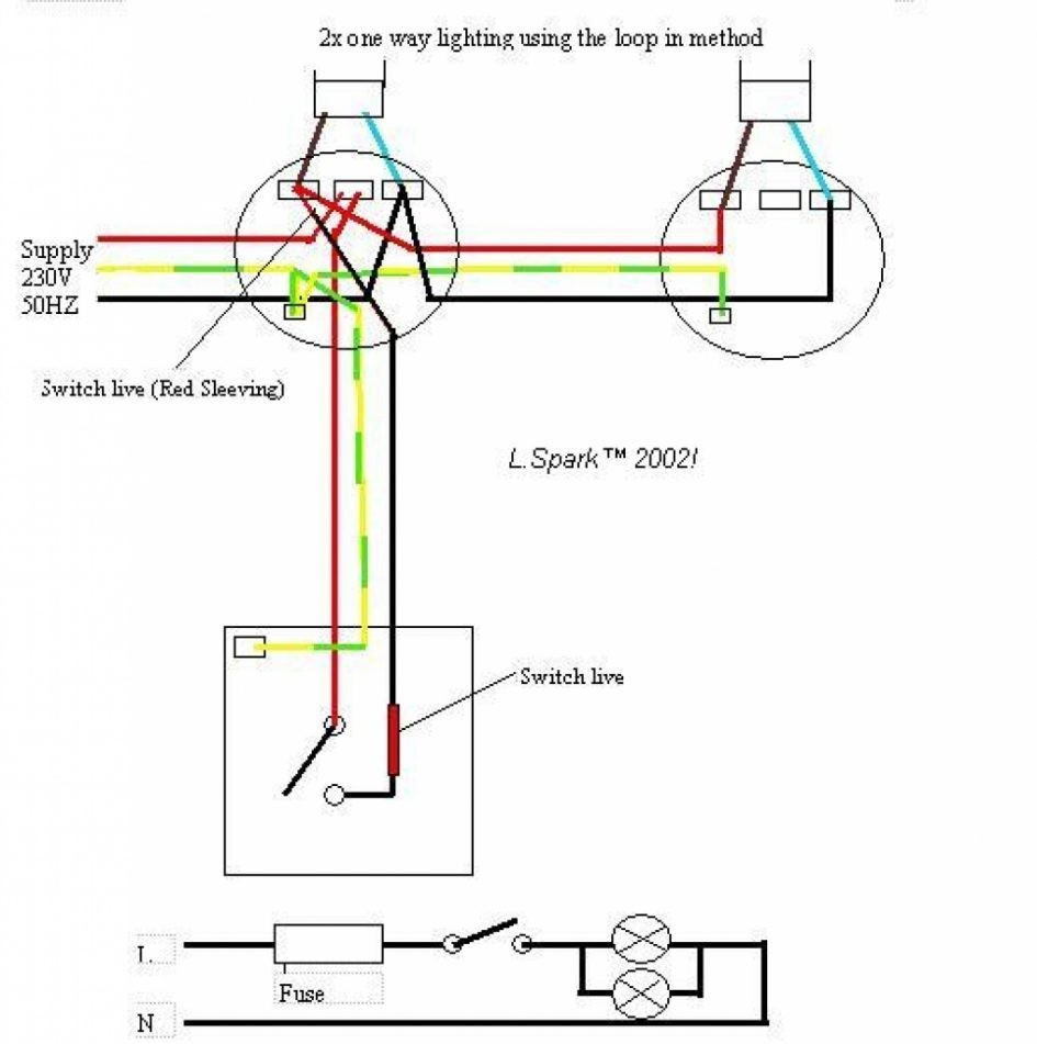 Wiring Diagram Gallery: Two Way Light Switch Wiring Diagram Uk