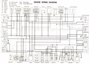 Yamaha 650 Dragstar Wiring Diagram  Wiring Diagram