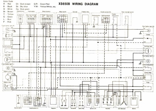 small resolution of 1983 yamaha 650 xs wiring diagram wiring diagram toolbox