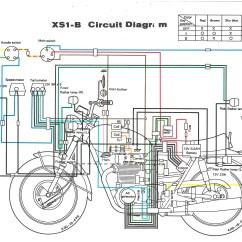 Bobber Wiring Diagram 2000 Xr650r Yamaha Xs650 Chopper Hobbiesxstyle