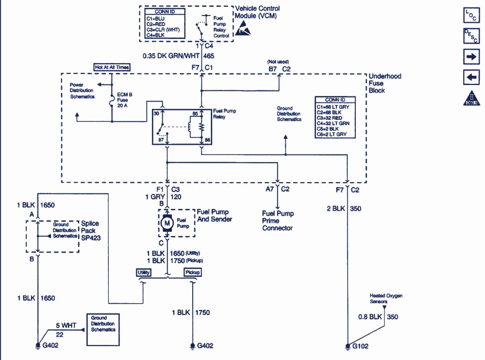medium resolution of 1990 chevy blazer fuel pump wiring wiring diagram view 1990 chevy s10 blazer fuel pump relay location 1990 chevy blazer fuel pump wiring