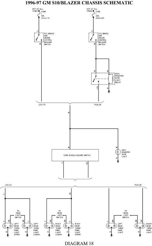 small resolution of 1994 chevy s10 fuel pump wiring diagram