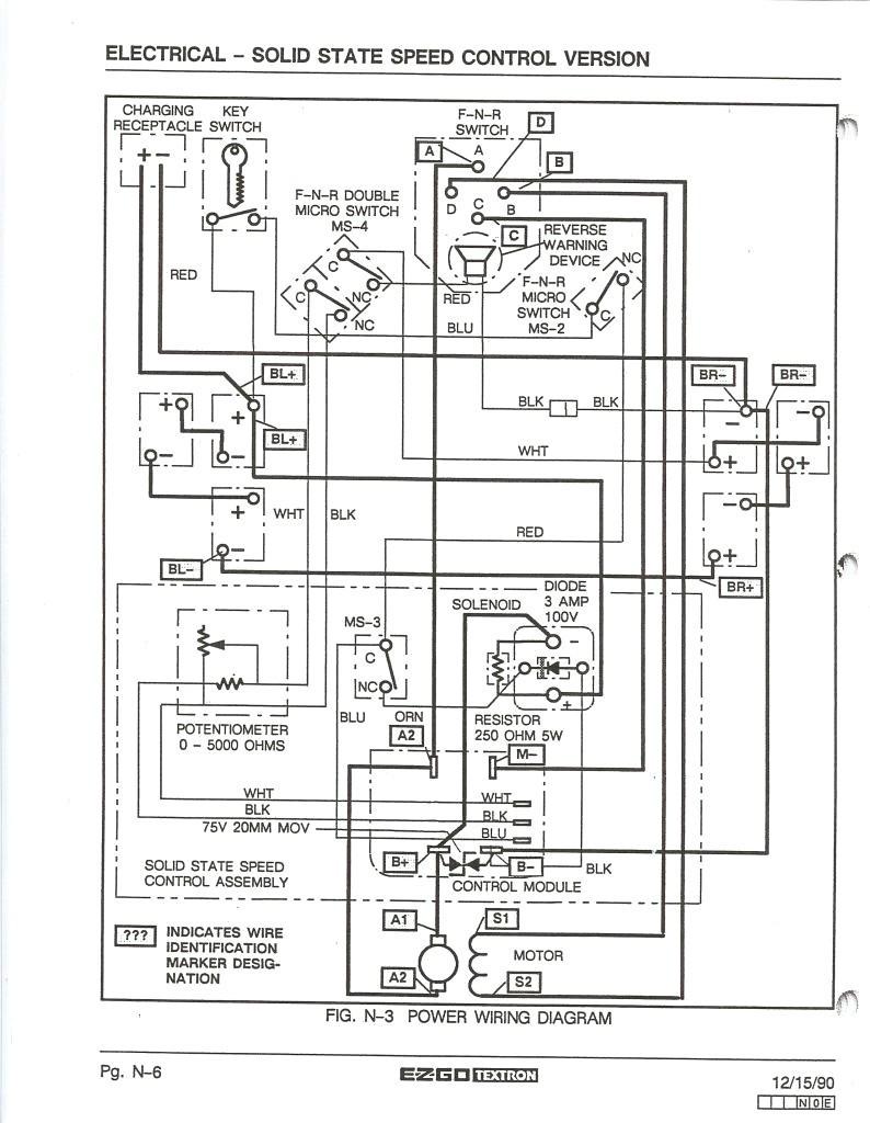 medium resolution of 2003 ezgo wire diagram trusted wiring diagrams rh kroud co 36 volt ezgo wiring diagram ezgo