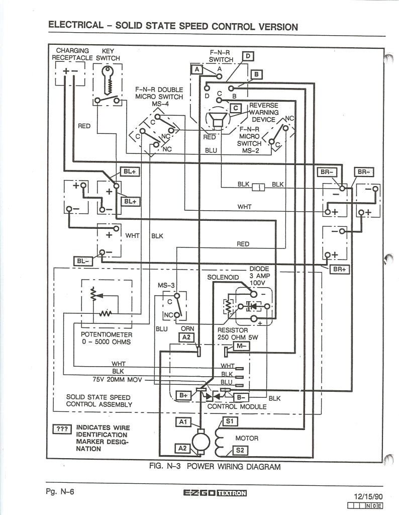hight resolution of 2003 ezgo wire diagram trusted wiring diagrams rh kroud co 36 volt ezgo wiring diagram ezgo