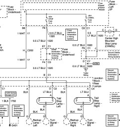 tail light wiring diagram chevy wiring solutions 2001 silverado tail light wiring diagram [ 3782 x 2664 Pixel ]