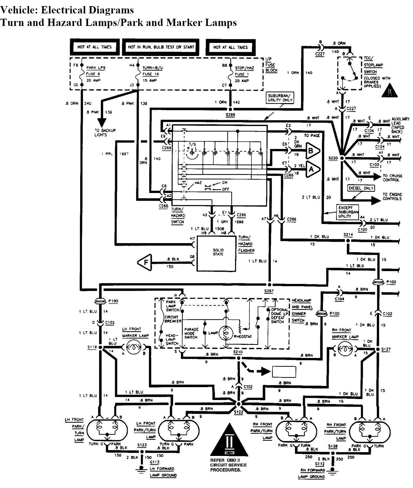 2003 Tahoe Wiring Schematic : 2003 Chevrolet Tahoe Wiring