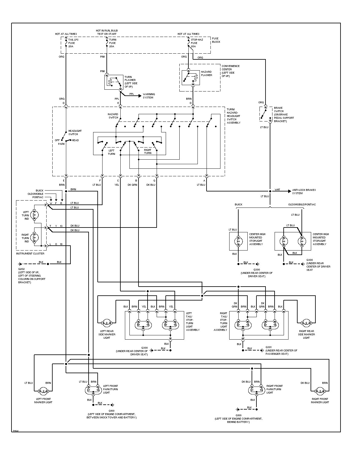 2001 Pontiac Grand Prix Radio Wiring Diagram Collection