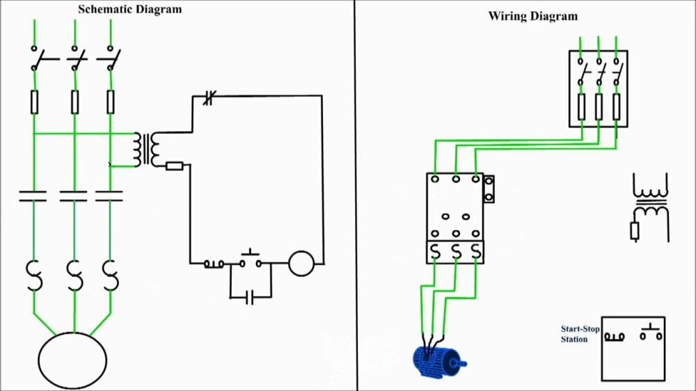 medium resolution of 3 wire start stop push wiring diagrams push start stop wiring diagram 3 phase contactor
