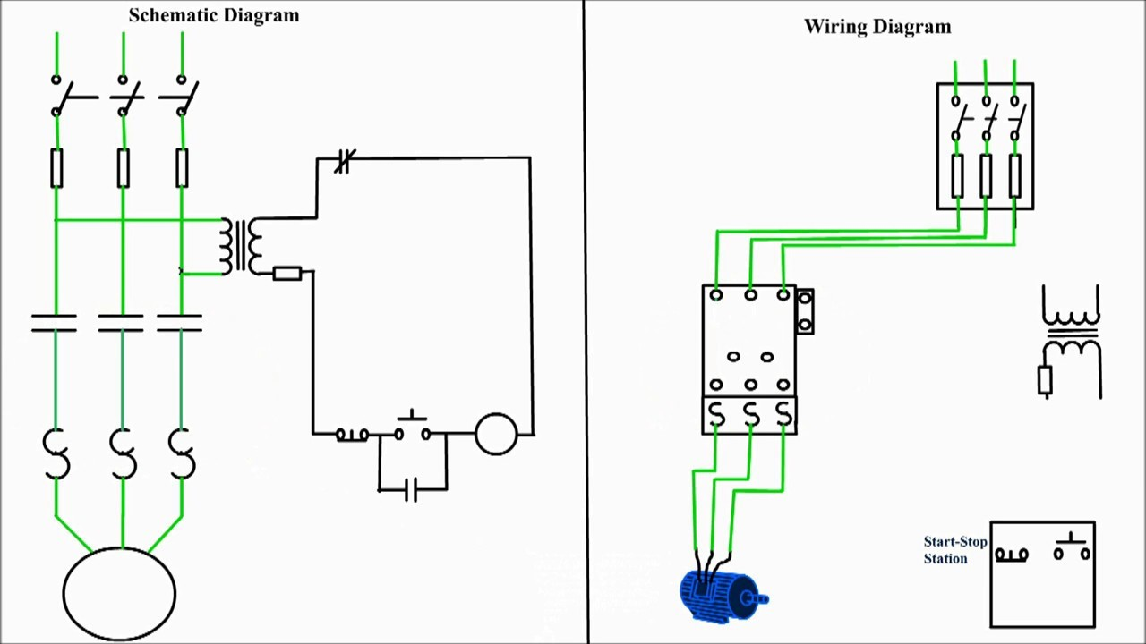 hight resolution of 3 wire start stop push wiring diagrams push start stop wiring diagram 3 phase contactor