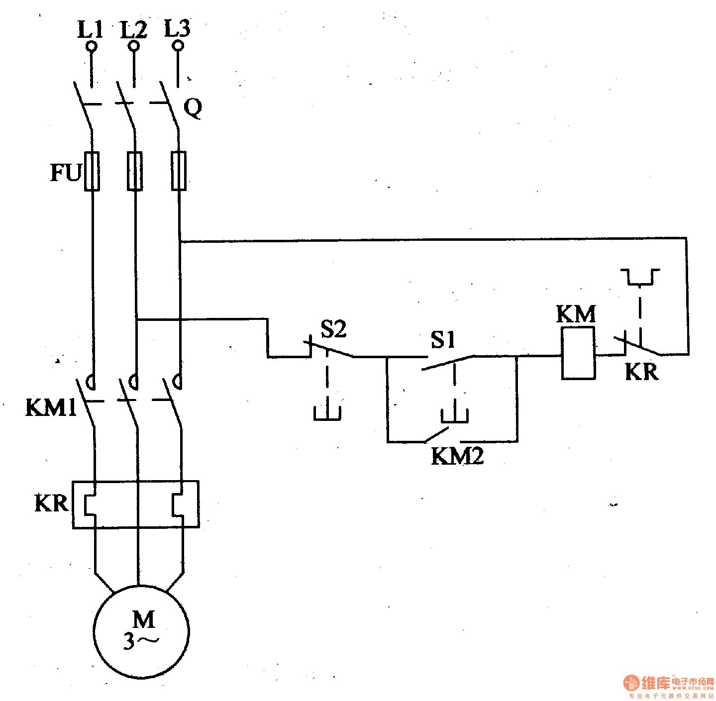 [MOBILIA] Motor Starter Diagram Start Stop 3 Wire Control