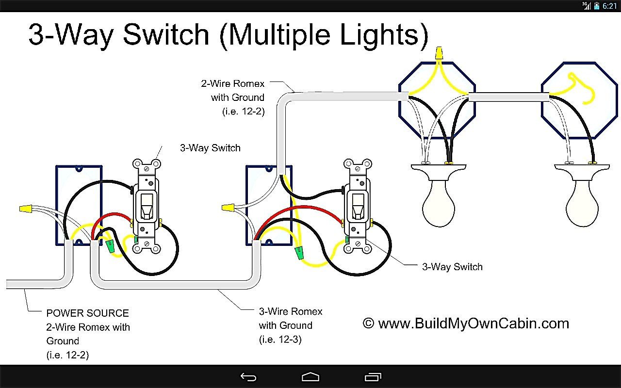 Wiring Diagram For Upstairs Lights