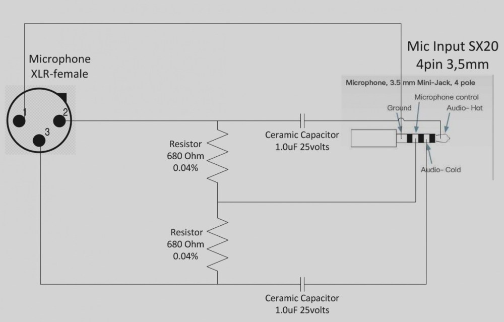 medium resolution of 5 pin cb mic wiring diagram