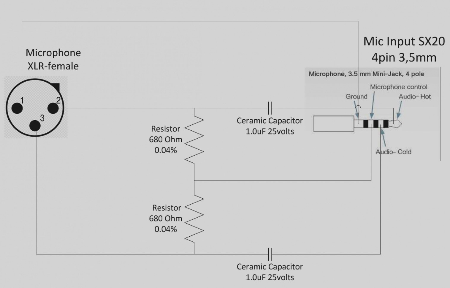 hight resolution of 5 pin cb mic wiring diagram