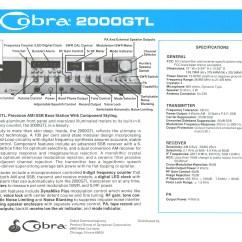 Cobra Cb Radio Wiring Diagram Stuffy Nose 4 Pin Mic Image