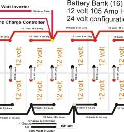 12v 24v battery bank wiring diagram [ 1100 x 832 Pixel ]