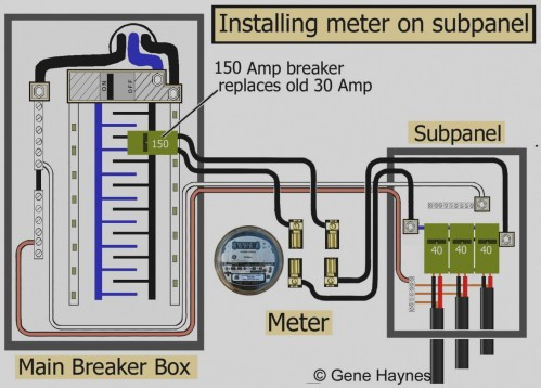 small resolution of 60 amp breaker box wiring diagram beautiful sub panel within how to wire a subpanel