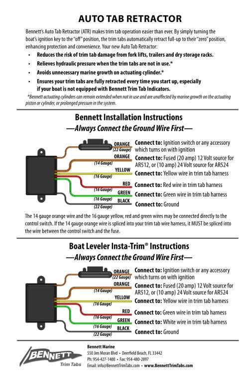 small resolution of trim tabs wiring diagram wiring diagram week bennett wiring diagram wiring diagram technic mercruiser trim tab