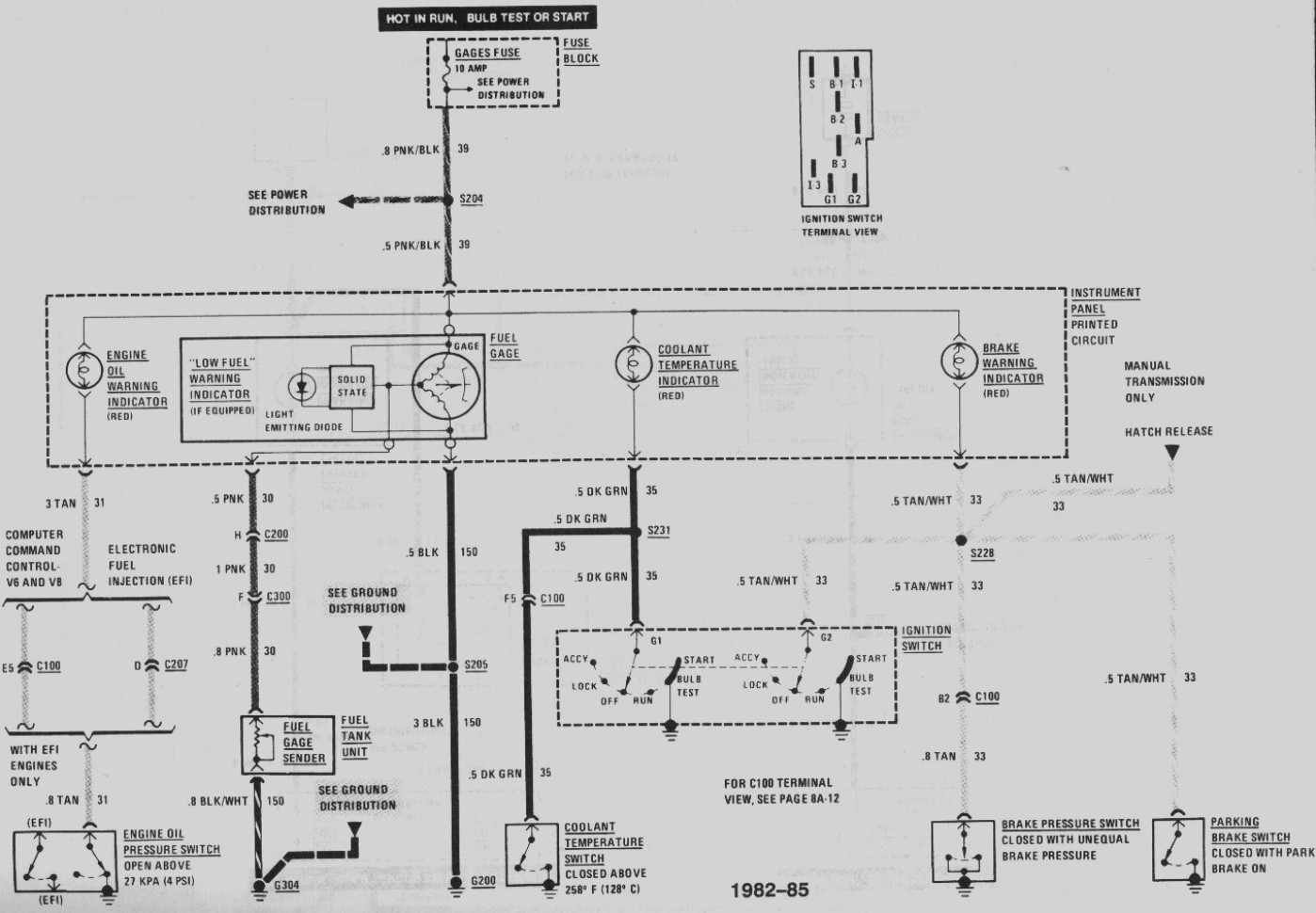 Gas Sending Unit Wiring Diagram