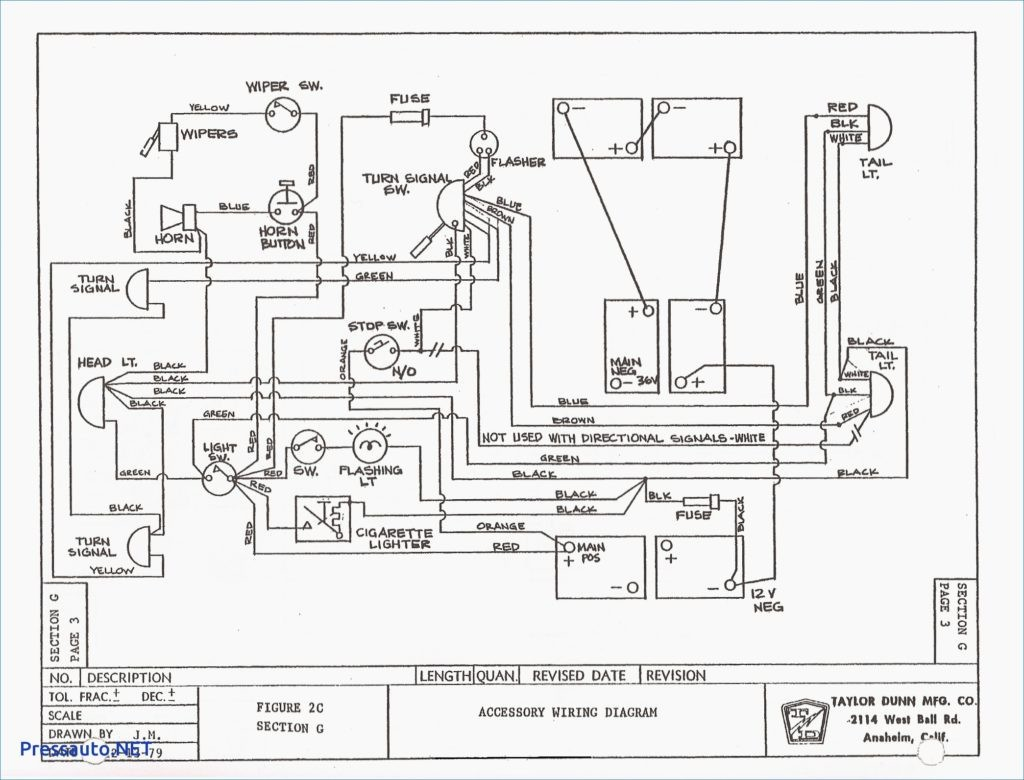 Yamaha Golf Car Wiring Diagram