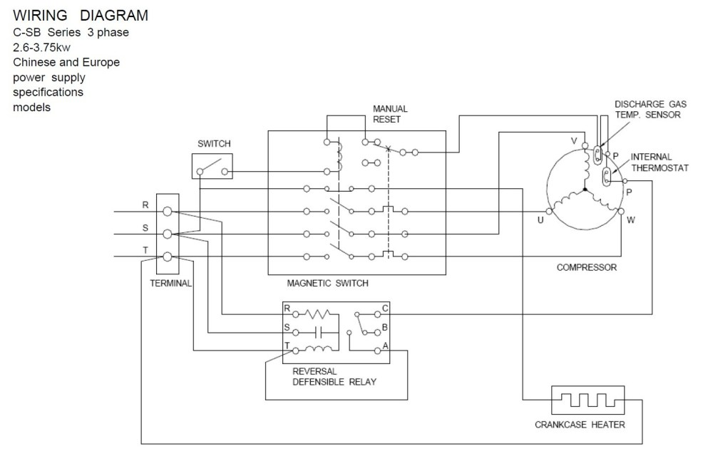 medium resolution of copeland pressor wiring diagram download wiring diagram for copeland pressor wiring condensing unit embraco terminal